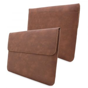 Snugg Leather Sleeve for Apple Macbook Air 13 and Macbook Pro 13 with Retina - Distressed Brown