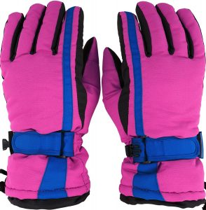 Simplicity Women's Winter 3M Waterproof Outdoor Snowboard Ski Gloves
