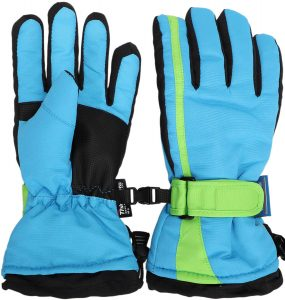 Simplicity Boys Winter Outdoor Windproof Waterproof Thinsulate Ski Gloves