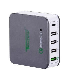 Tendak Multiple USB Wall Charger with 40W 5-Port