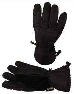 Simplicity Men's Winter Waterproof 3M Thinsulate Touchscreen Ski Gloves
