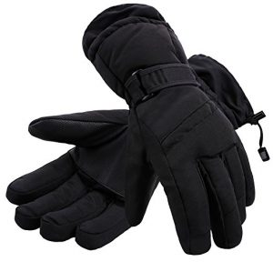 Simplicity Men's 3M Thinsulate Lined Waterproof Snowboard / Ski Gloves