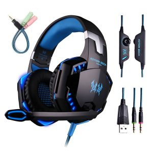 ENVEL G2000 PC Gaming Over-ear Professional Headphone