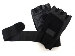 LongLifeLeather Weightlifting Gloves