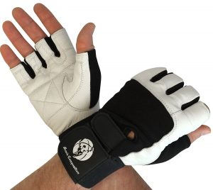 Muscle Composition Gym Gloves with Wrist Support