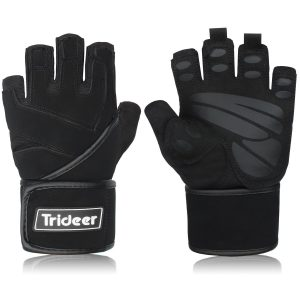Padded Anti - Slip Weight Lifting Gloves
