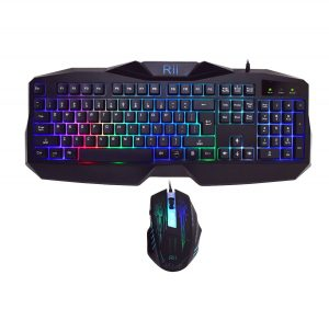 Rii RM400 LED Gaming Keyboard & Mouse Combo