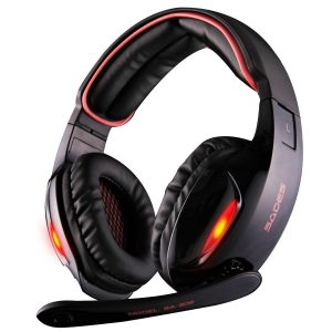 Sades USB Surround Stereo Wired PC Gaming Headset