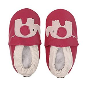 Amur leopard Baby Girl Soft Sole Leather Crib Shoes