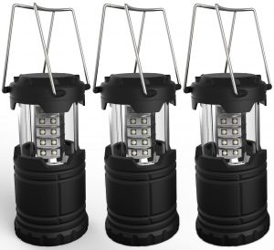 Lemontec Portable LED Camping Lantern