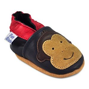 Petit Marin Beautiful Soft Leather Baby Shoes with Suede Soles _ Toddler / Infant Shoes - Crib Shoes _ Baby First Walking Shoes - Pre-walker Shoes - 20 Designs
