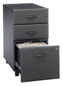 Bush Business Furniture Rolling File Cabinet