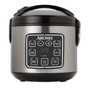 Digital Cook-Touch Rice Cooker by Aroma Housewares