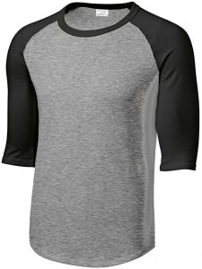 Sleeve Baseball T-Shirt by Joe's USA
