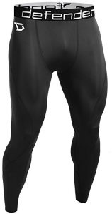 Men's Compression Baselayer Running Tights by Defender