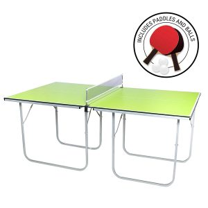 Mini-Pong Collapsible Tennis Table by Milliard