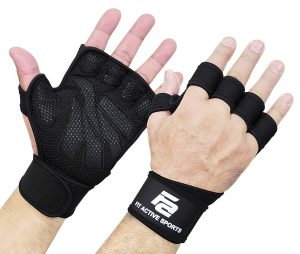 Ventilated Weight Lifting Gloves by Fit Active Sports