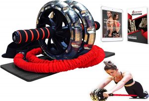 Multifunctional Ab Roller Wheel by Intent Sports