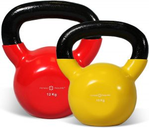 Cast Iron Kettlebell Set by Fitness Republic