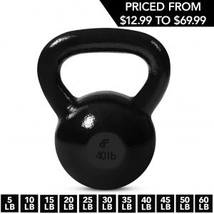 Cast Iron Kettlebell by Day 1 Fitness